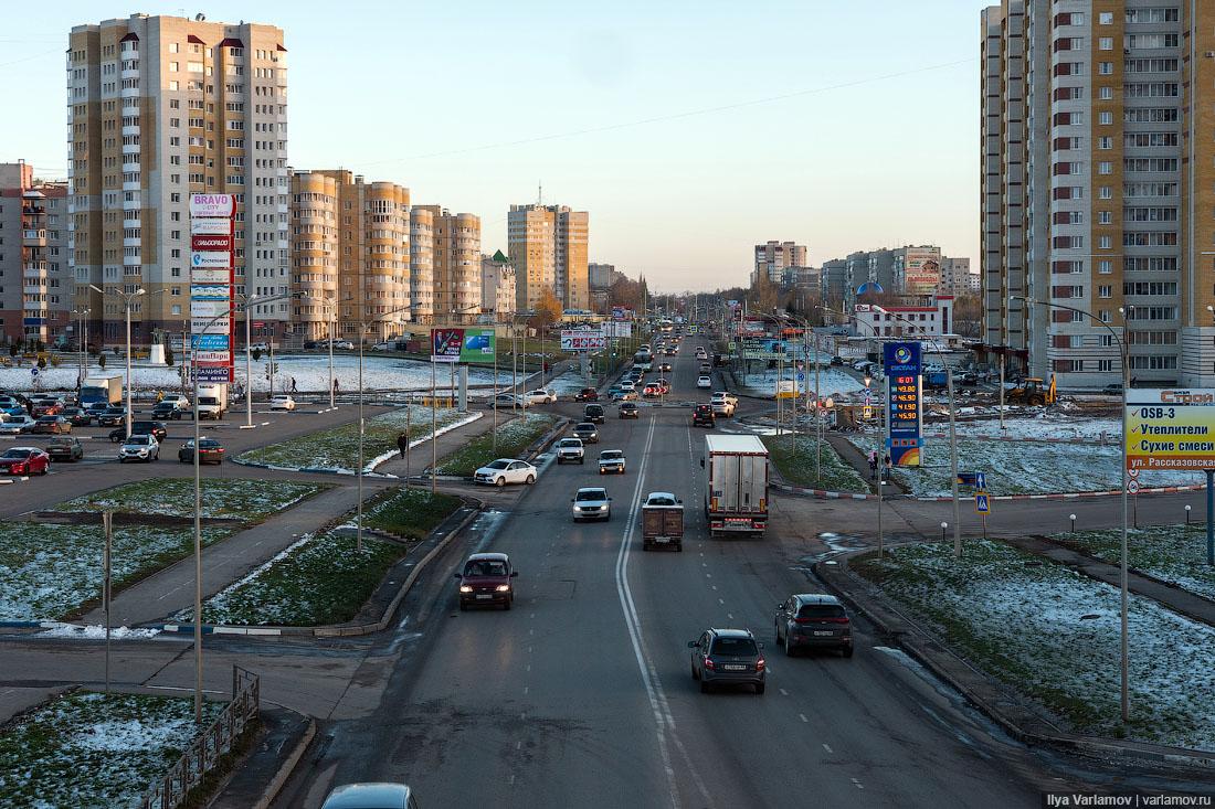 Новые районы Тамбова: хотели бы так жить?