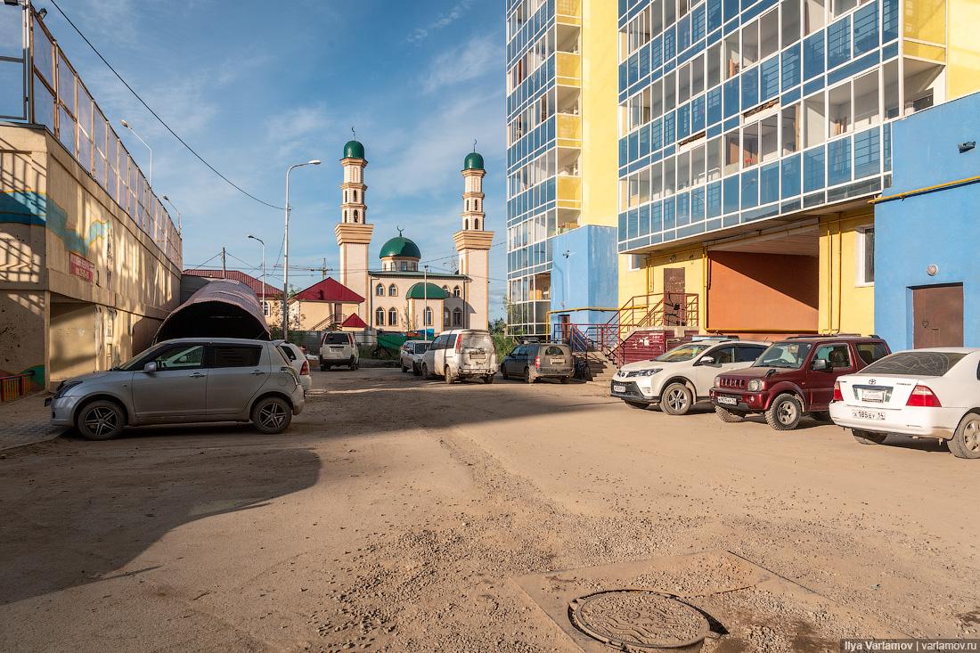 Якутск: благоустройство в условиях вечной мерзлоты