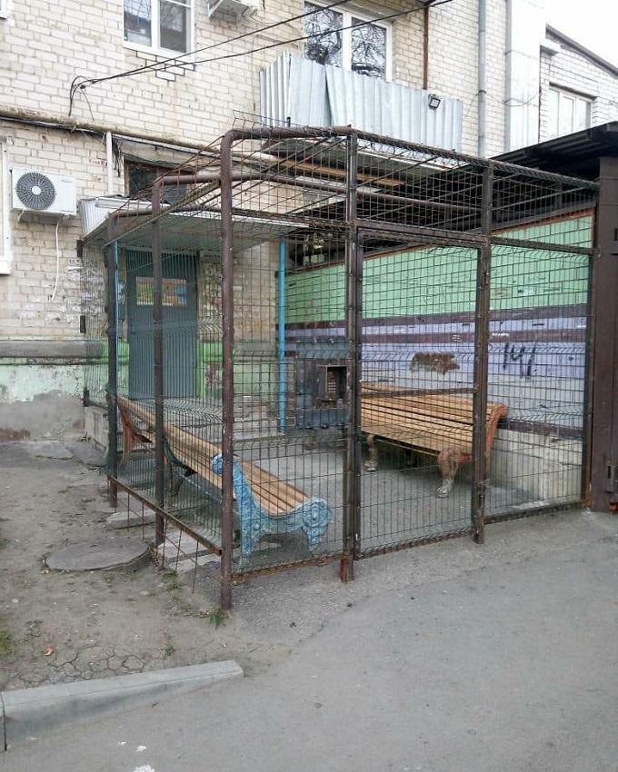Комфортная городская среда загоняет людей в клетку