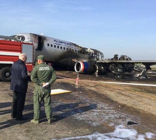 Причины аварии SSJ-100 в Шереметьево: версии экспертов