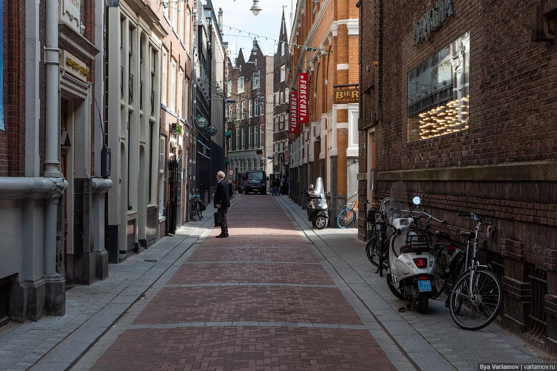 Полёт над Голландией и прогулка по Амстердаму
