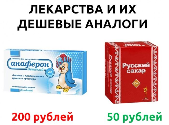 «Анаферон» – отличное средство, если у вас нет мозгов!