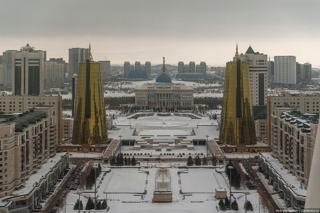 Астана официально переименована вНур-Султан