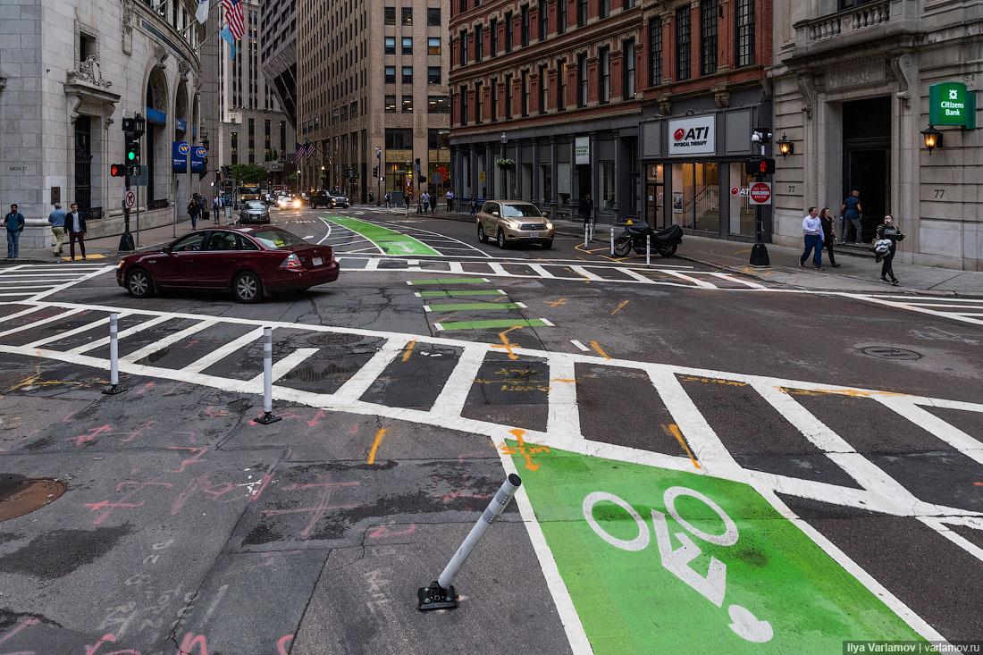 Как Бостон избавляется от машин