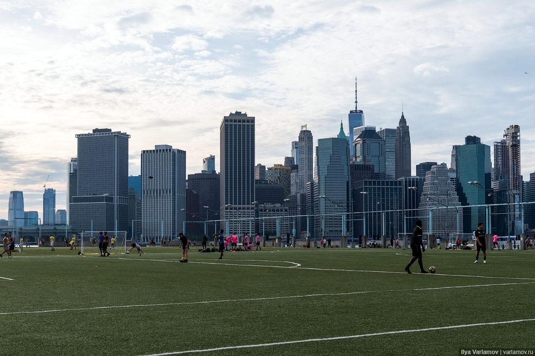 Новая набережная в Нью-Йорке: хотели бы такую в свой город?