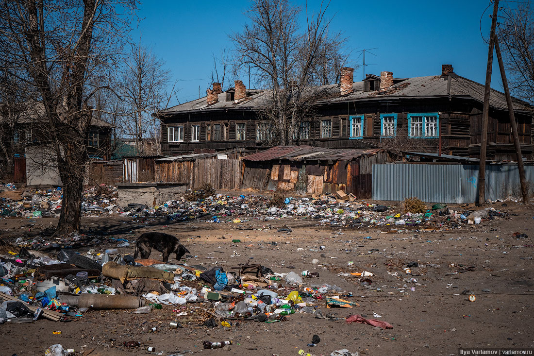 Глава района вЧите про репортаж Варламова: «То, что онснимает... надо,