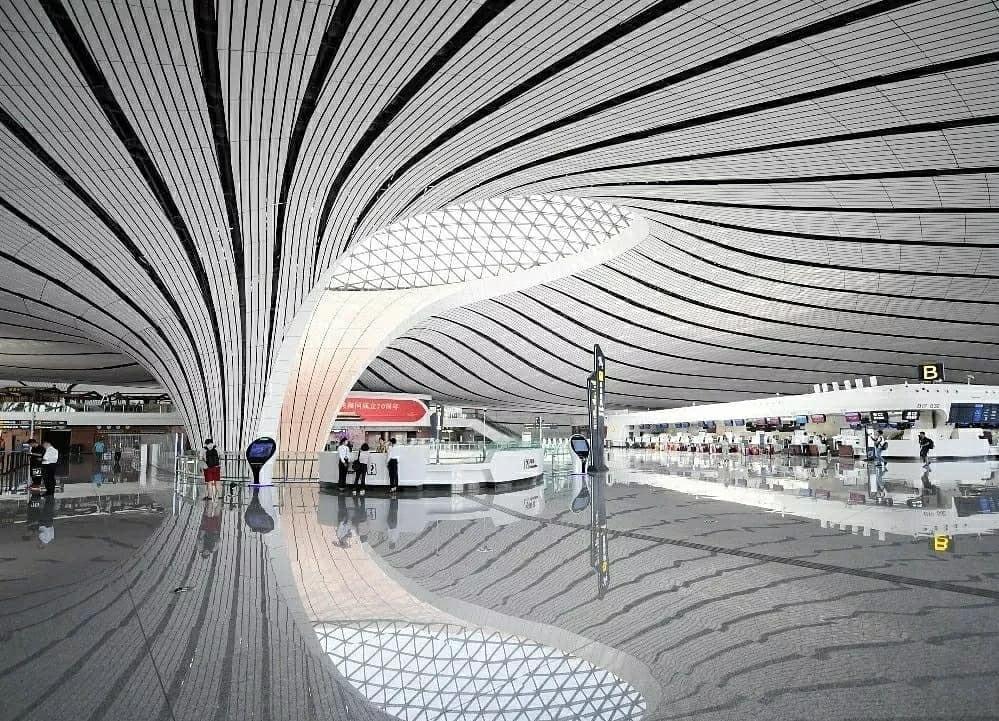 Дасин — самый большой аэропорт в мире