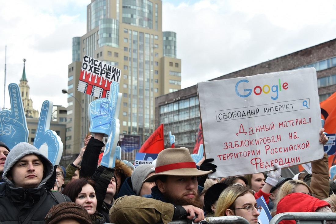Песков: вКремле нет сторонников ограничения свободы винтернете
