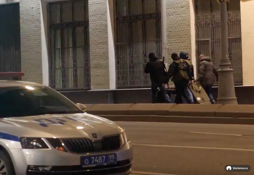 Стрельба в центре Москвы: нападение на приёмную ФСБ