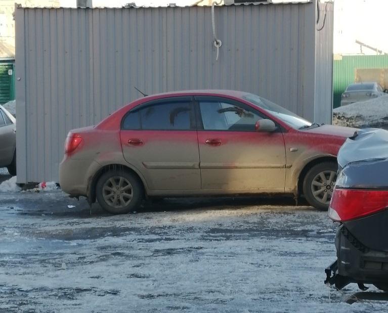 Месть – это блюдо, которое подают с говном Алёна, Рыбалко, грязь, машины, который, парковка, пустырь, газон, всему, захватить, сэкономить, решили, Вернее, колёсах, развозится, водители, осталось, газона, пустыря, чтобы