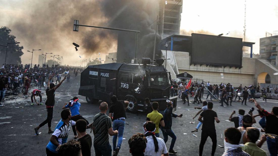 Майдан в Ираке: власти устроили побоище, расстреляв 100 человек