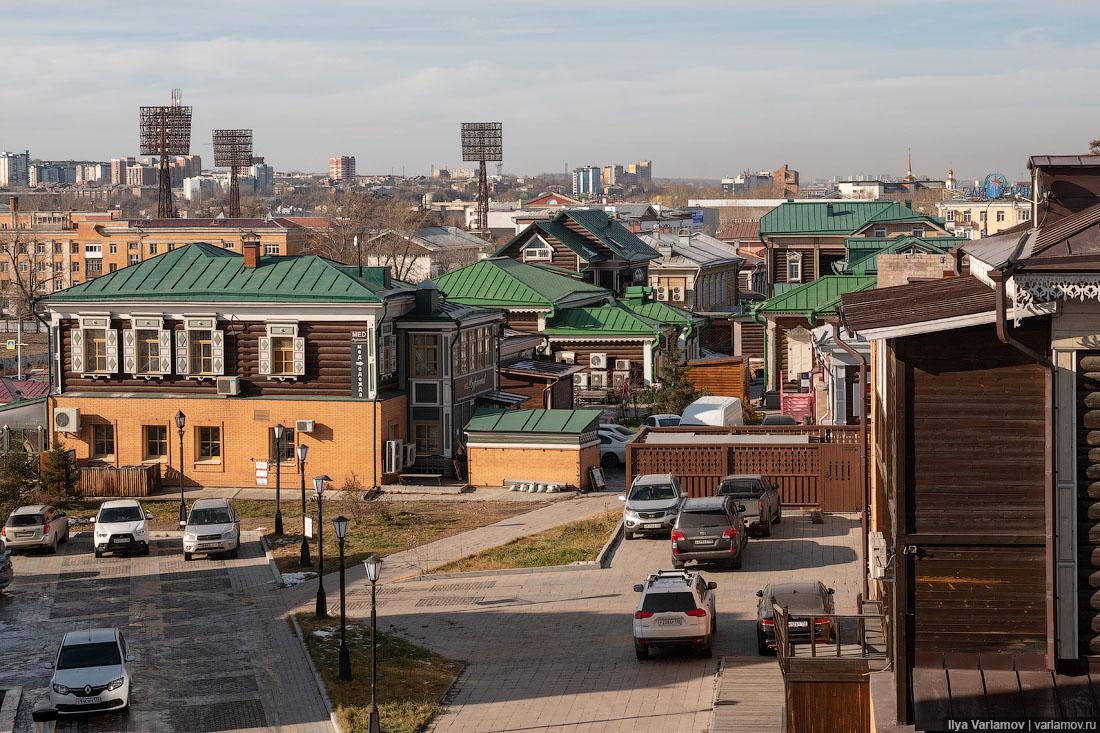 Иркутск: город, спасший деревянную архитектуру