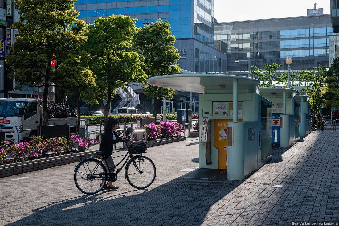 Япония: туалеты и велосипеды