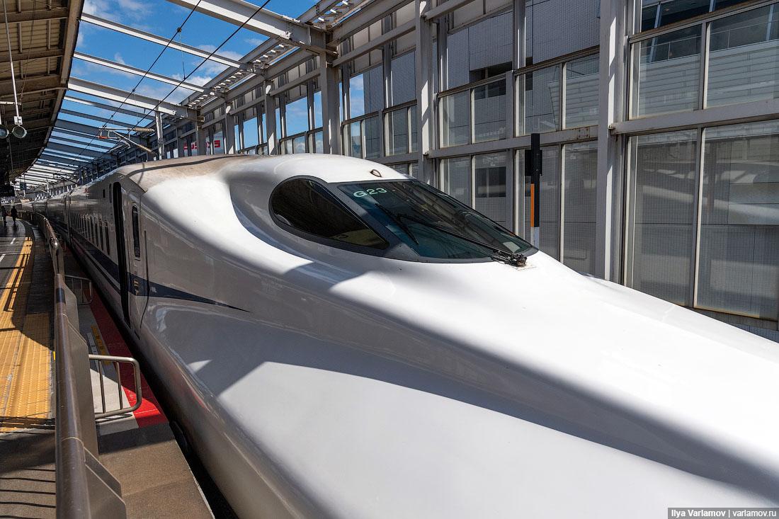 Синкансэн: как работают скоростные поезда Японии