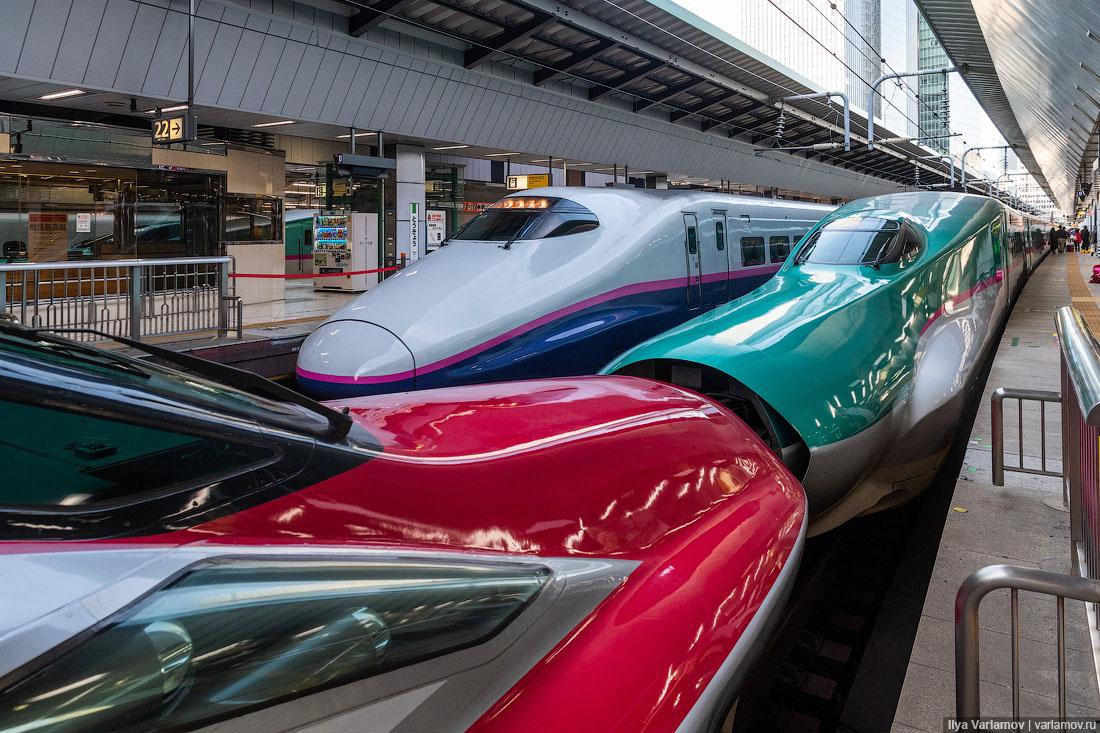 Токио за год до Олимпиады