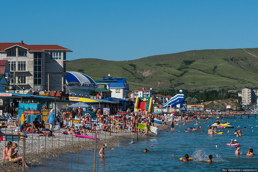 Отдых в Крыму: море с говном