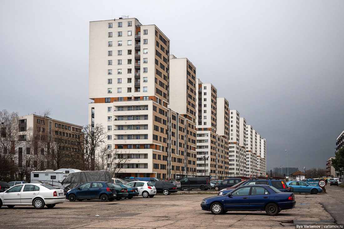 Новый район Кракова: Сталина на них нет!