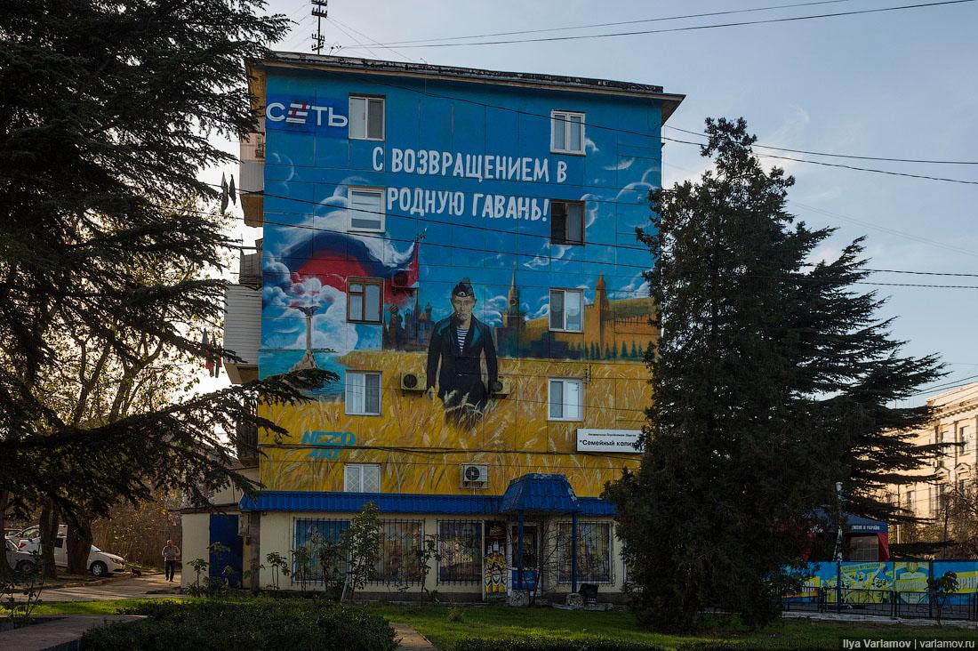 Россия до и после Крыма