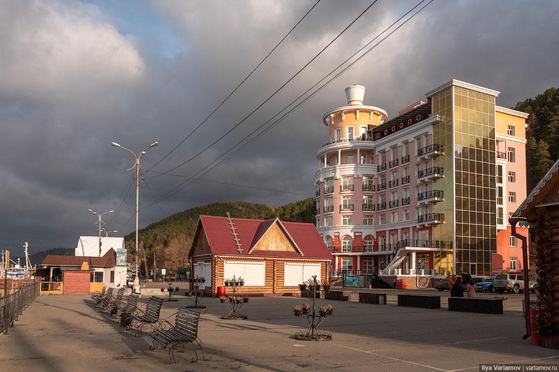 Листвянка: зона бедствия на Байкале