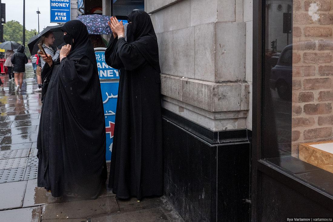 Лондон: метро, машины и стрит-арт