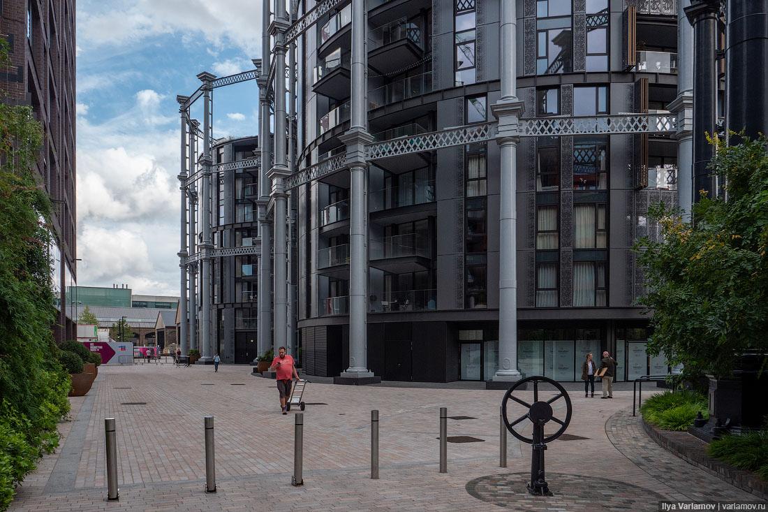 Лондон: природа в постиндустриальном районе здесь, только, здания, район, архитектура, Теперь, КингсКросс, вдоль, канал, стоят, Лондоне, гулять, которые, можно, многолетники, потому, других, Например, газонов, никаких