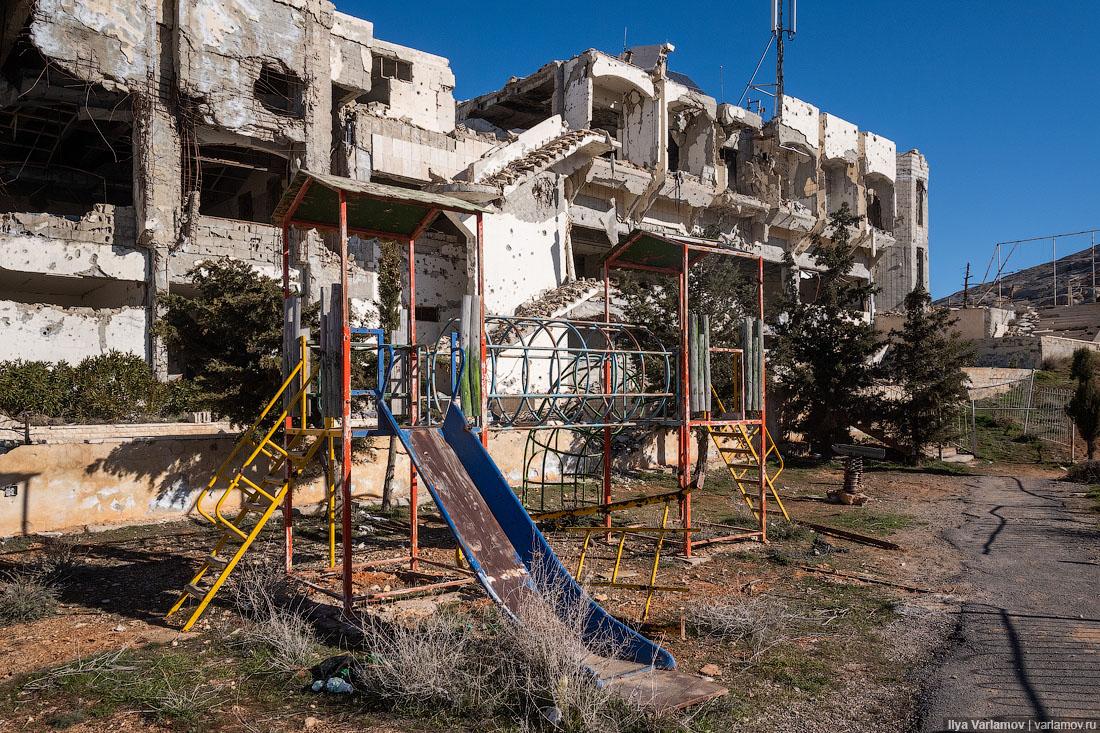 Сирия: уничтожение святынь