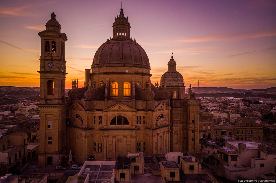 Мальта: природа, храмы, «Игра престолов»