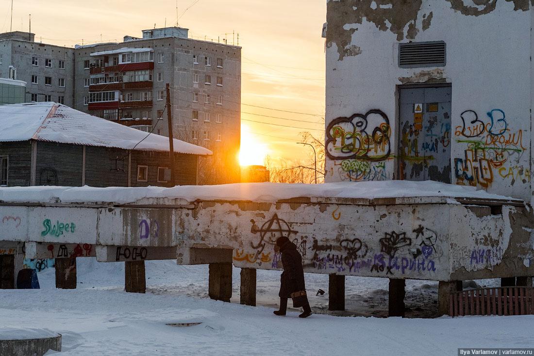 Мирный: город на краю пропасти