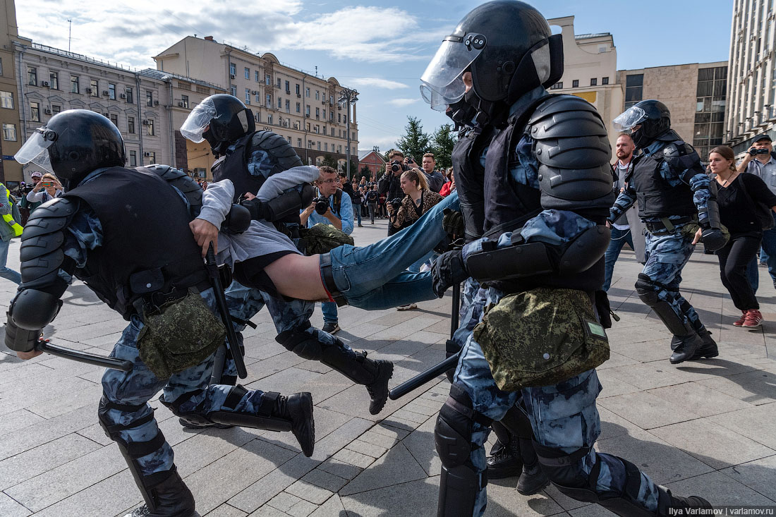 Протесты в Москве: что же с нами будет?