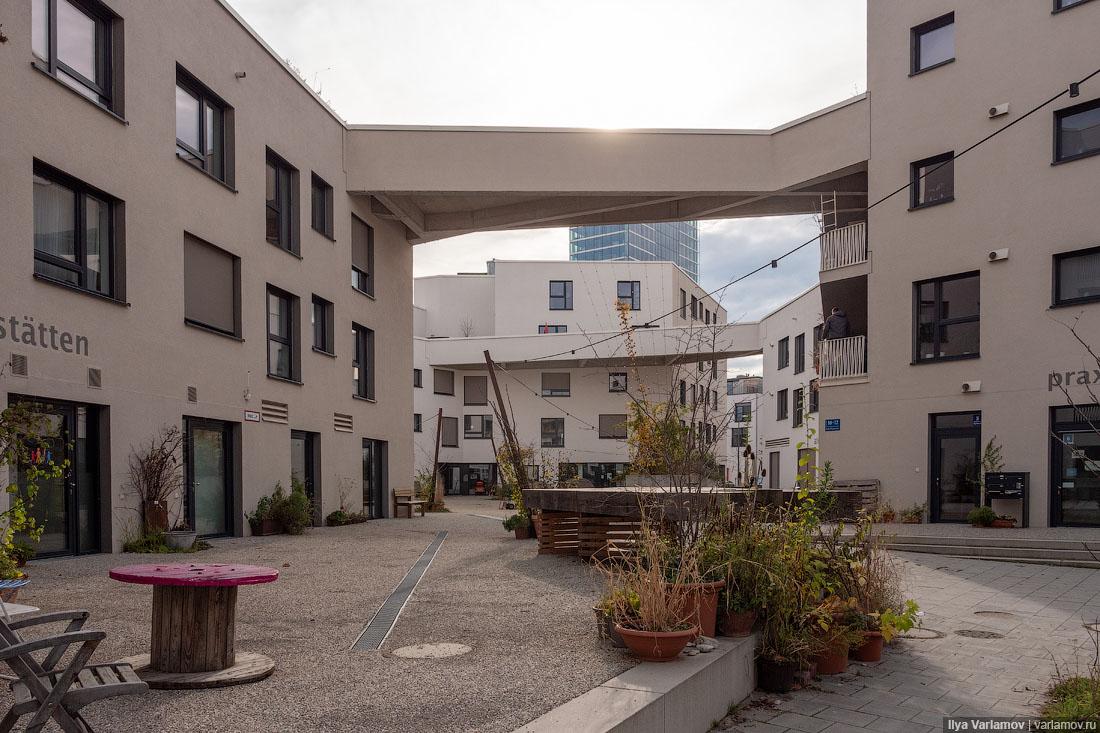 Очень крутой район в Мюнхене