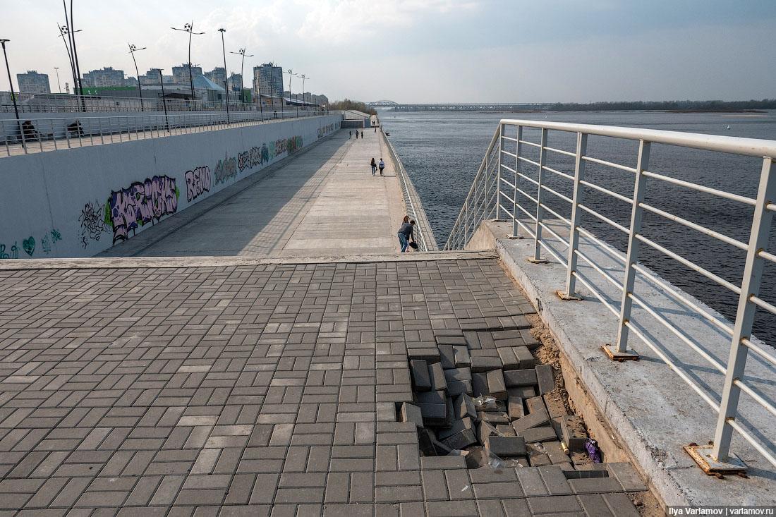 Нижний Новгород: год после ЧМ, всё разваливается будет, Нижний, очень, стадиона, стадион, просто, Новгород, города, назад, делать, чтобы, Нижнем, можно, нельзя, только, бывает, Новгороде, никто, благоустройство, дальше