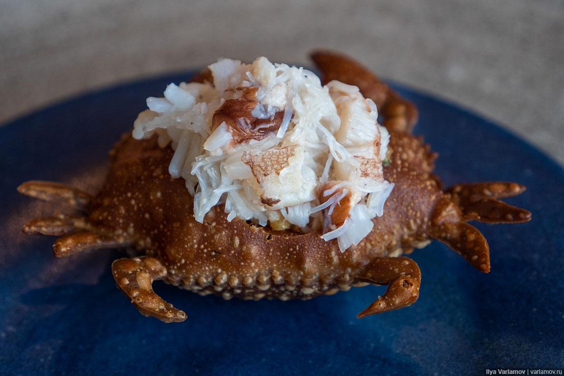 Лучший ресторан мира: рыбий пузырь, муравьи и кожа в шоколаде