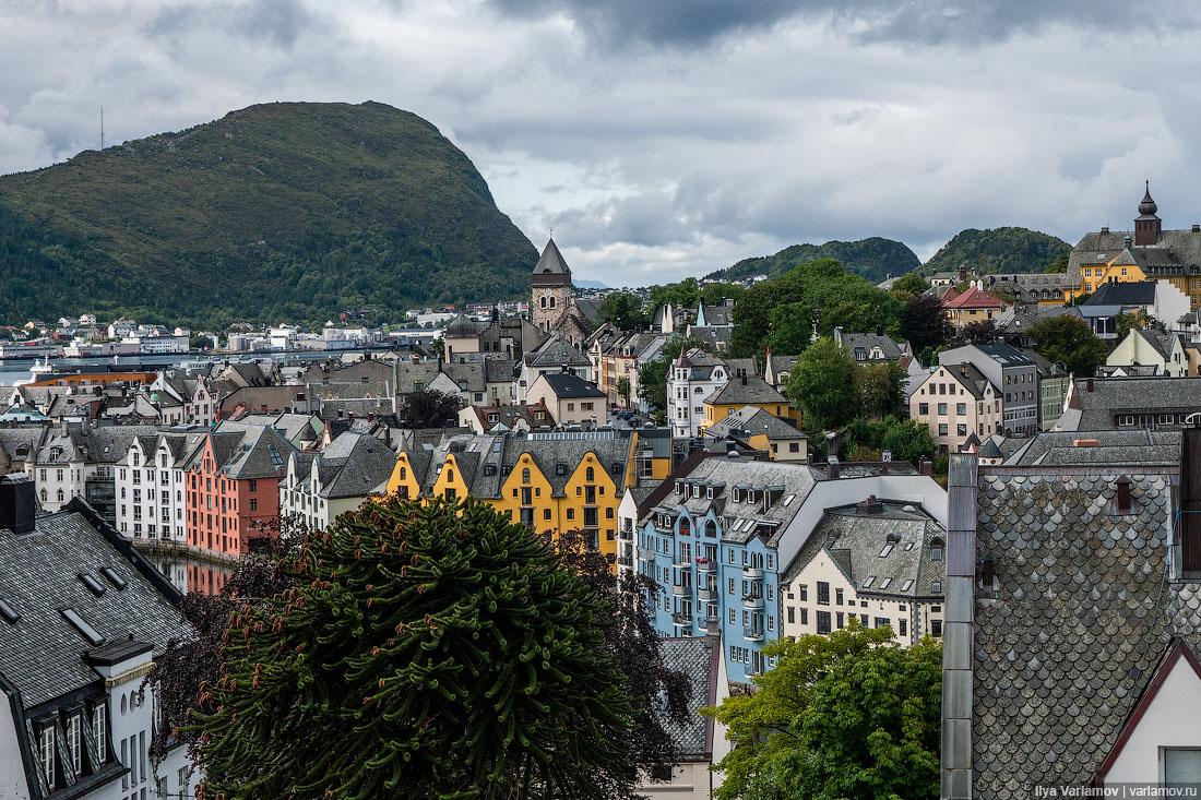 Возможно, самый красивый город Норвегии