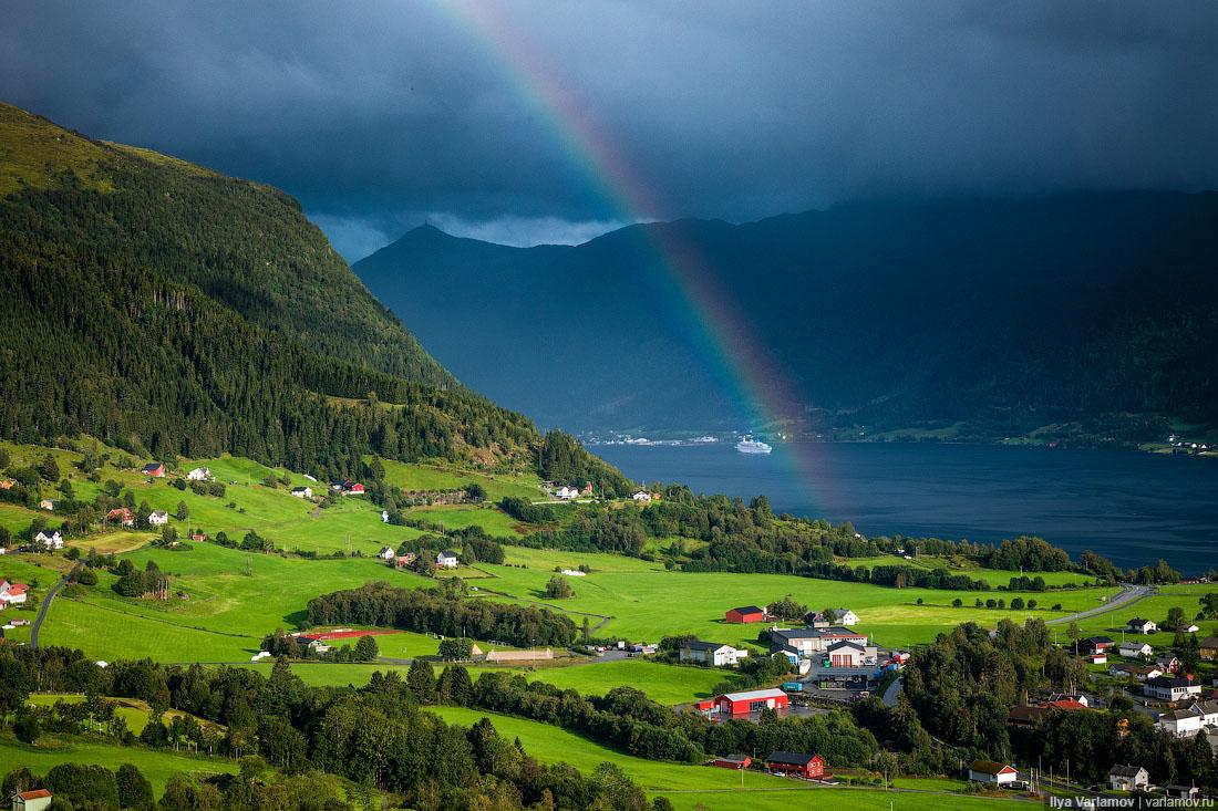 Как норвежцы привлекают туристов в небольшие города