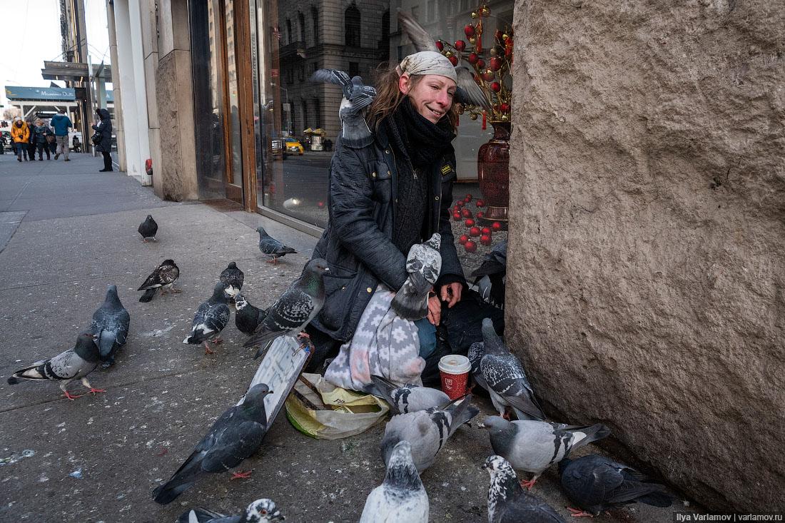 Жуткий Нью-Йорк: украинцы, золотые стейки, насилие
