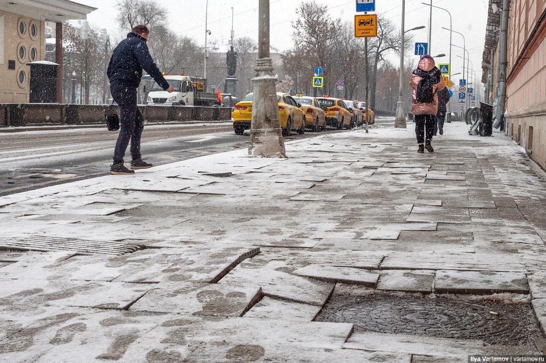 Почему в Москве разваливается плитка (неудобная ПРАВДА)