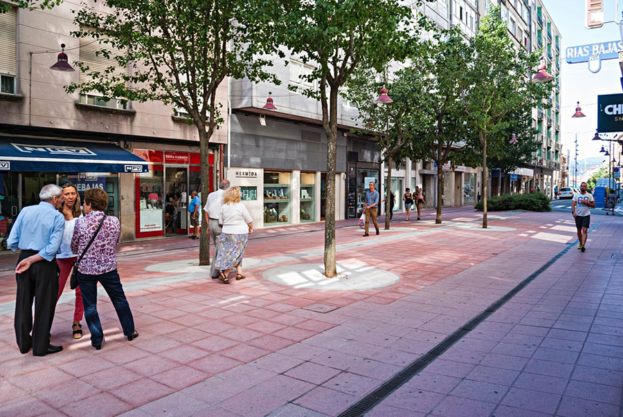 Как один испанский город освободил центр от машин