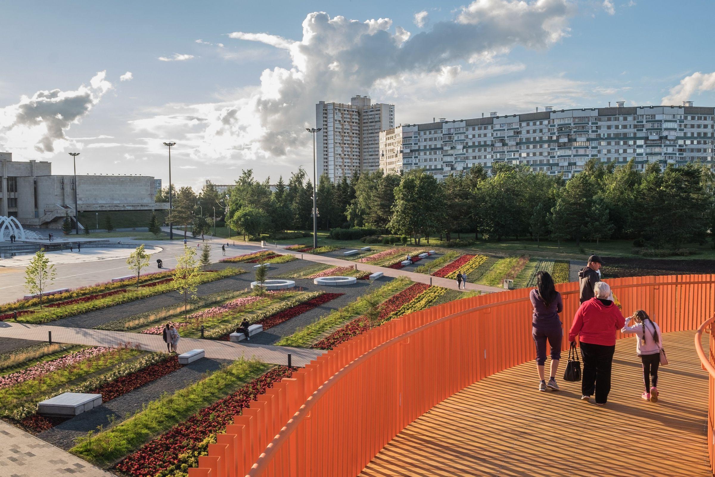 10 лучших общественных пространств России 2019 года