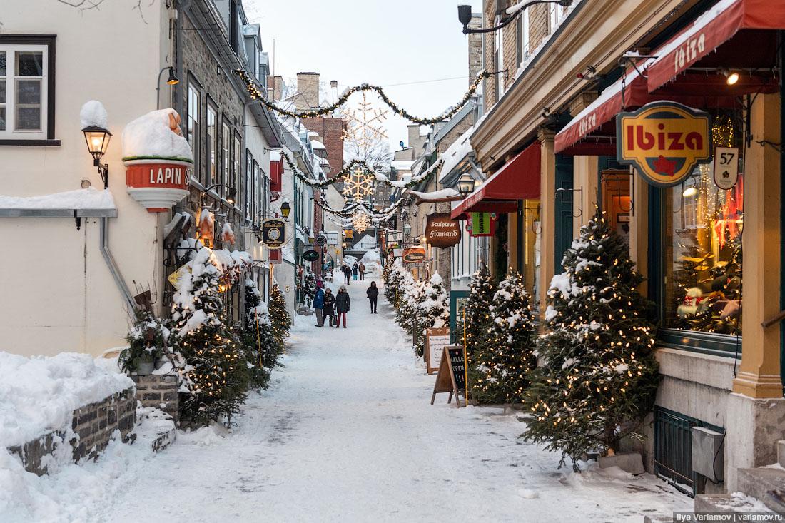 Квебек – це Європа! Только снега много