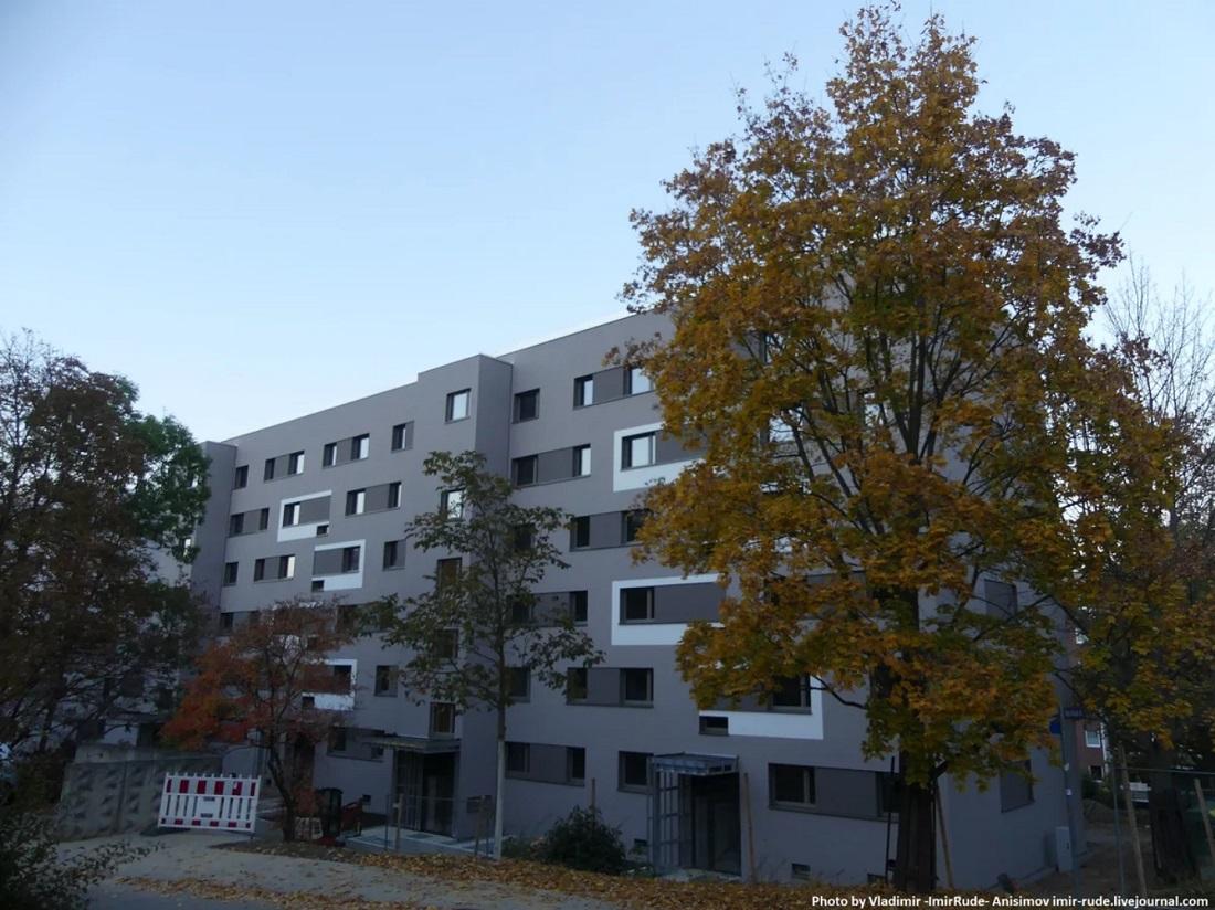 Реновация панельного дома в Германии