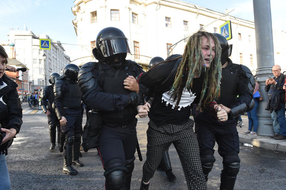 Русский бунт: 50 тысяч на митинге, 178 человек в автозаках