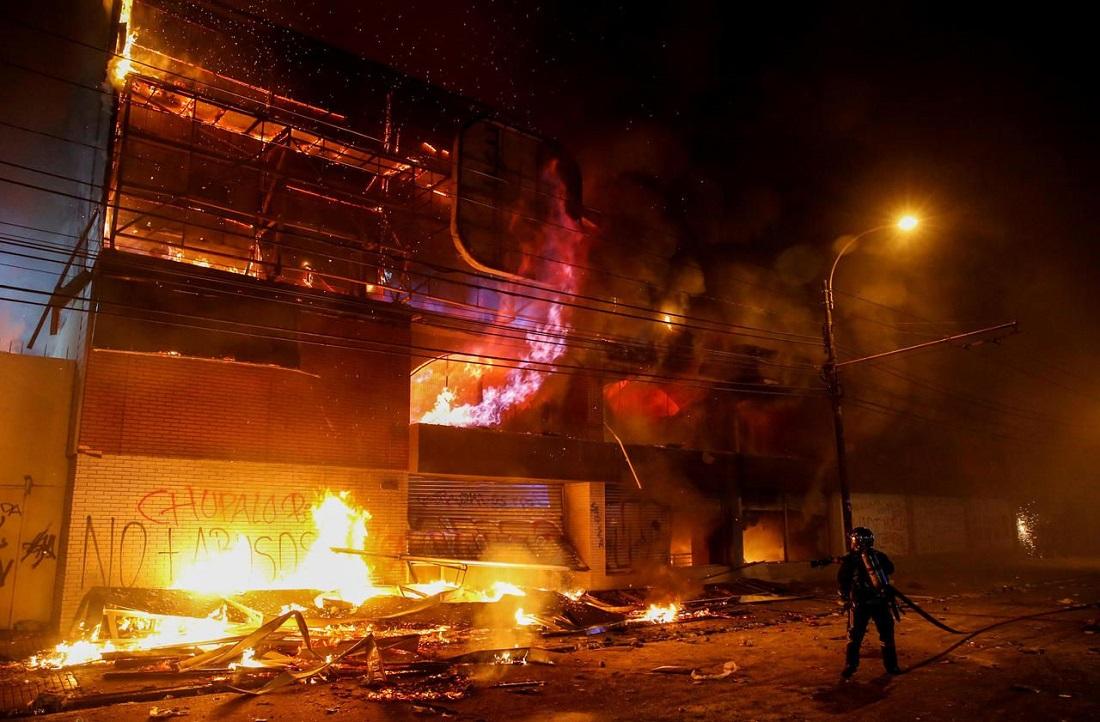 Бунт в Сантьяго