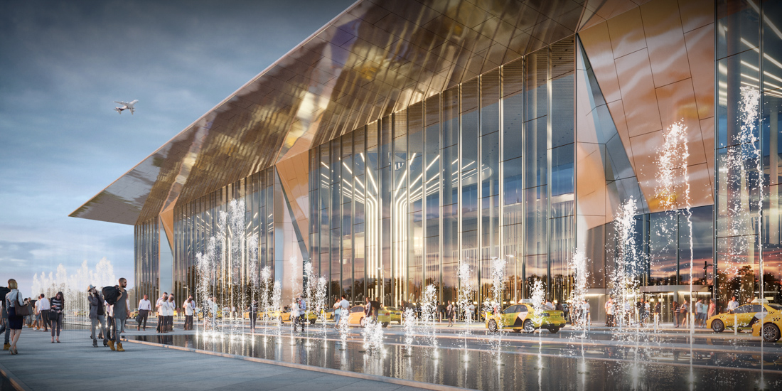 Как будет выглядеть новый аэропорт Новосибирска