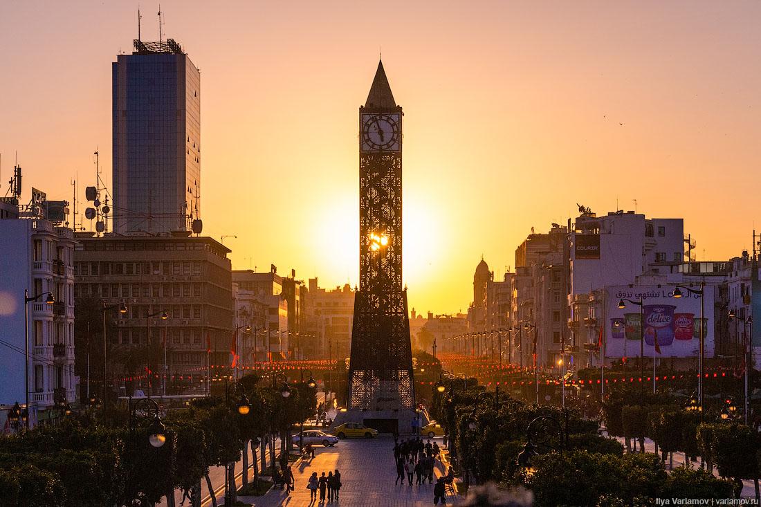Тунис: море, трамваи, ковры