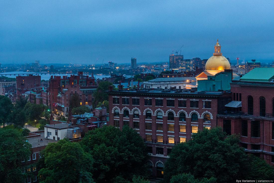 Бостон: город студентов, ирландцев и крыс