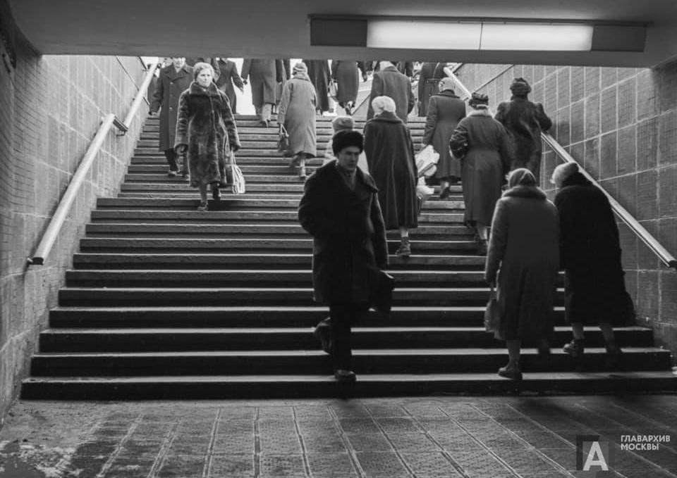 61 год Москомархитектура портит пешеходам жизнь