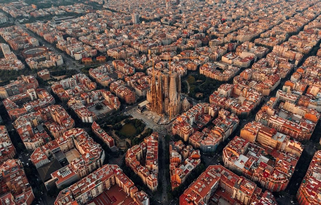 Очень крутая Барселона