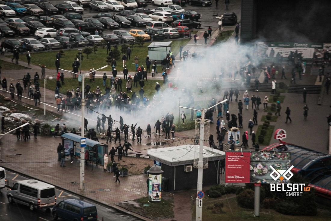 Протесты в Беларуси: «Марш против фашизма» и смена тактики
