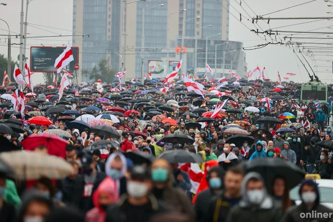 Шёл третий месяц белорусских протестов