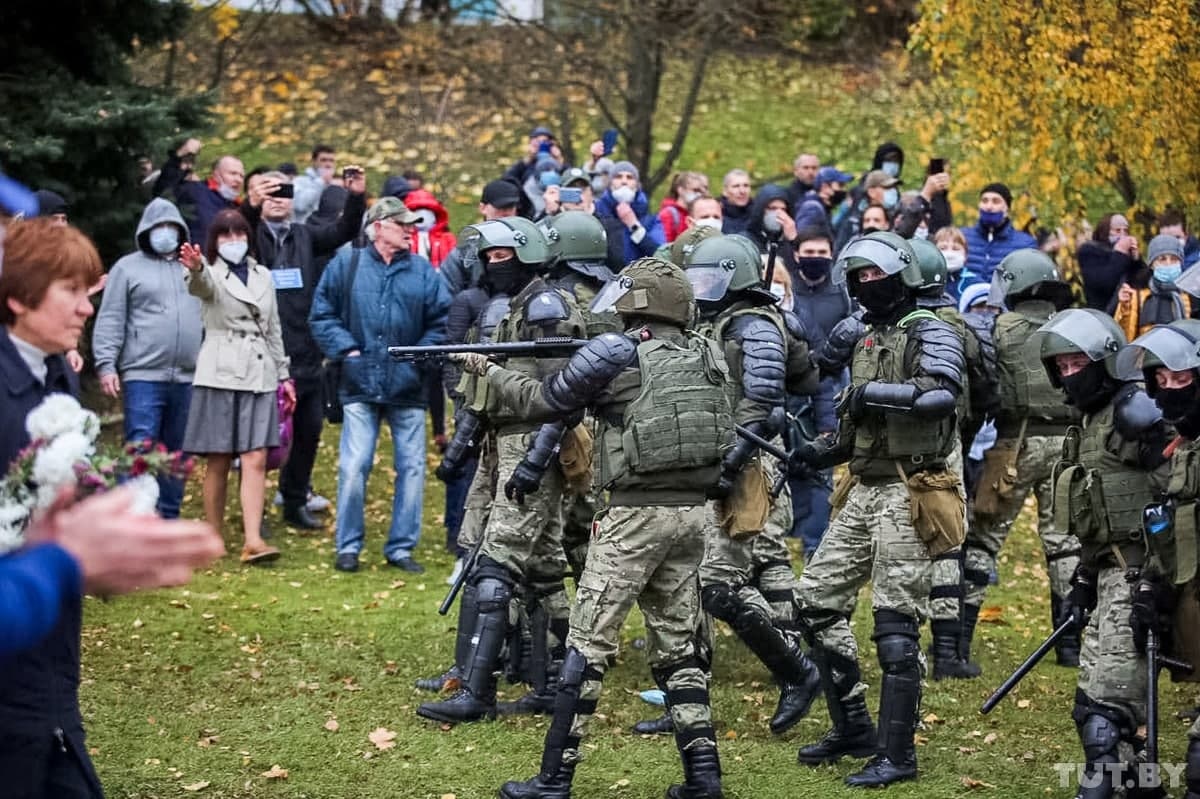 Белорусы против репрессий и террора